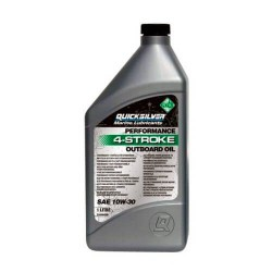 Масло моторное QuickSilver Performance 4-stroke Outboard Oil SAE 10W-30
