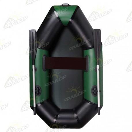 Лодка ПВХ AquaStar Elfin В-210 зеленая