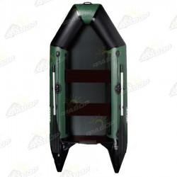 Лодка моторная AquaStar D-275 зеленая