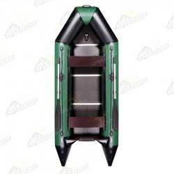 Лодка моторная килевая AquaStar D-310 зеленая