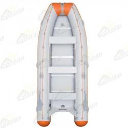 Лодка моторная Колибри КМ-450 DSL светло-серая