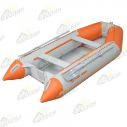 Лодка моторная Колибри КМ-330Д светло-серая