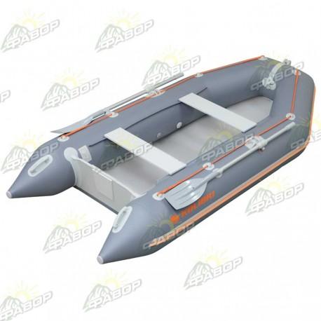 Лодка моторная Колибри КМ-300D темно-серый