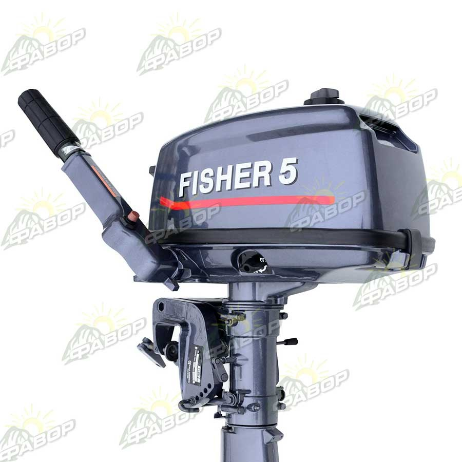 Все о лодочном моторе fisher 2.5