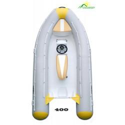 Лодка жесткая непотопляемая моторная RIB-400 Спорт