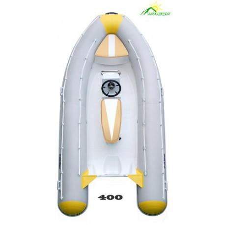 Лодка жесткая непотопляемая моторная RIB-400 Люкс
