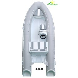 Лодка жесткая непотопляемая моторная RIB-450 Люкс